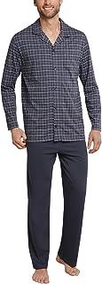 Schiesser Men's Selected Premium Long Pyjama Set