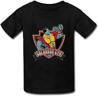 Custom Men's Chew Art T-Shirt Print Cotton Short Tee Shirt US M Black