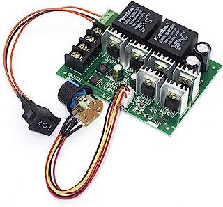 ICQUANZX DC Motor Controller,DC 9-50V 40A DC Motor Speed Control Reversible PWM Controller 12V 24V 36V 48V 2000W Forward R...