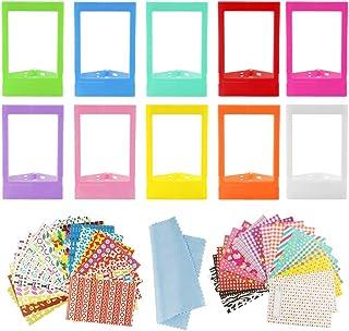 Aipaide 10pcs Mini Marcos de Fotos Coloridos Accesorios para Cámaras Instax Mini Marco de Fotos para Fujifilm Instax 9 8+...