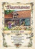 Bauernkalender 222719 2019: Wandkalender mit Bauernweisheiten und passenden Bildern. DIN A3 mit Foliendeckblatt.
