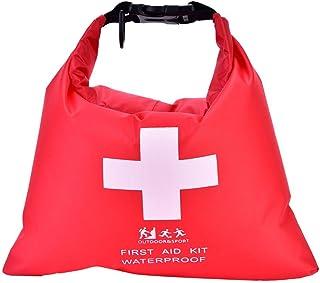 Tbest Botiquín de Primeros Auxilios Impermeable Completo First Aid Kit, Bolsa de Emergencia 1.5L para Acampar Drifting Excursionismo para Coche Hogar Cámping Caza Viajes Deportes Al Aire Libre