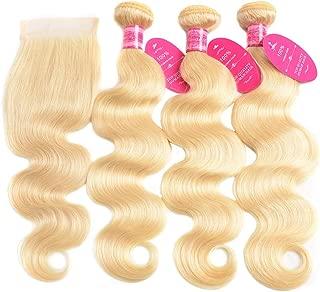 Best cheap blonde bundles with closure Reviews
