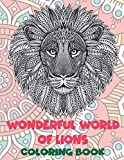 Wonderful World of Lions - Coloring Book