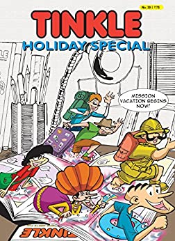 TINKLE HOLIDAY SPECIAL NO. 39 by [Rajani Thindiath]