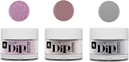 Red Carpet Manicure Color Dip Nail Dip Powder Set, 3-Pack