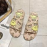 zapatillas de casa para mujer cerradas,Las mujeres llevan zapatillas en verano, los nuevos baños de baño en casa en chanclas antideslizantes y sandalias de playa son zapatillas impermeables y resiste