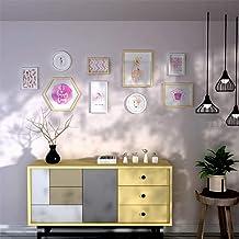 إطار صورة Gmddpjfl الصغير المنفوش صورة مزيج ألبوم صور صورة جدار داخلي جدار غرفة الأطفال ديكور ديكور جداري إطار معلق