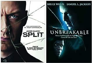 Split & Unbreakable: M. Night Shyamalan Double Feature DVD Collection