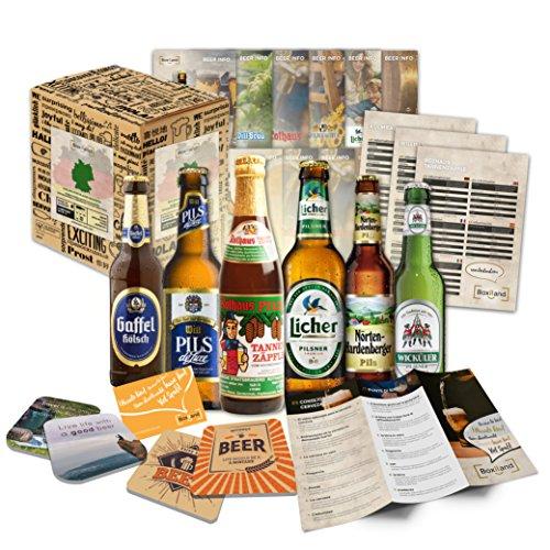 Le lot de 6 bières allemandes