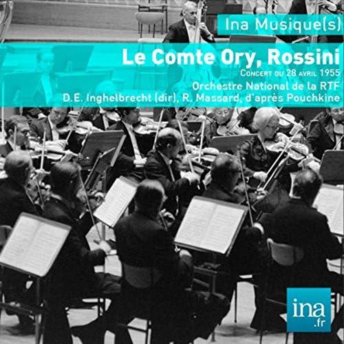 Désiré Inghelbrecht, R. Massard & Orchestre National de la RTF