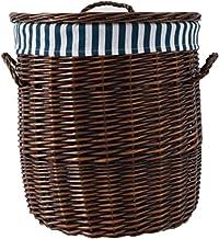 YAYADU Storage Basket Finishing Box Handle Box Lid Store Magazine Newspaper Toy Clothes Package Livingroom Bedroom Balcony...