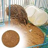 Corwar Coussinets de Nidification-1 pièces matériaux de Nidification d'oiseaux, substrat de Fibre de Coco nid d'oiseau Pigeon de Course Tapis d'oeufs d'élevage pour Poulet Pinson