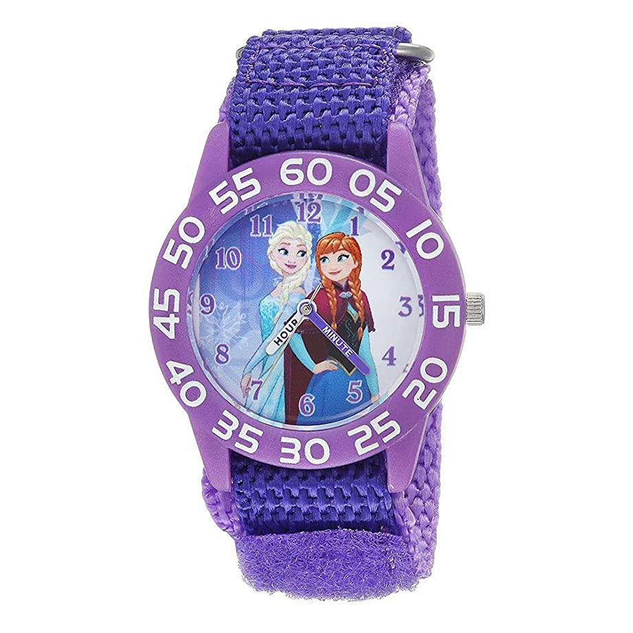 口径痛いに渡って[ディズニー]Disney キッズウォッチ アナと雪の女王 アナ雪 アナ エルサ マジックテープ WDS000319 腕時計 [並行輸入品]