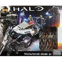 [ヘイロー]Halo Mega Bloks NMPD Warthog Set LYSB011IX1OUC-TOYS [並行輸入品]