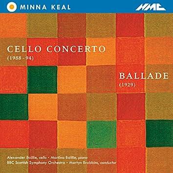 Minna Keal: Cello Concerto & Ballade