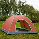 YUMAI Tente Automatique/Ouverture Rapide/Construction Libre/Camping/Plage/Pêche/extérieur/Tente de Tourisme Tente Double