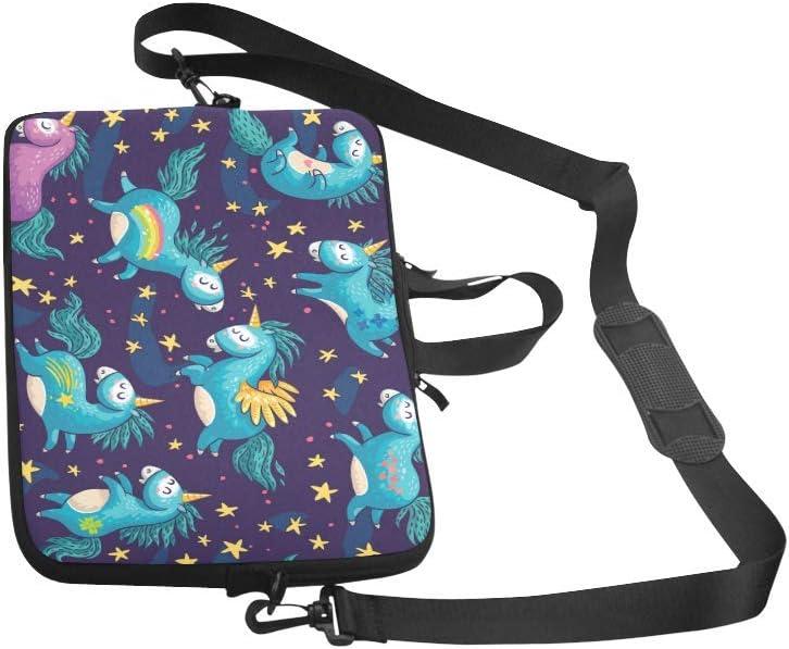 Laptop Sleeve Case 11 11.6 Inch Unicorn Resistant Neoprene Laptop Sleeve Notebook Computer Pocket Case Tablet Briefcase Carrying Bag Laptop Shoulder Bag