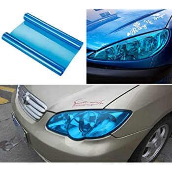 Hot Dark Taillight Tint Auto Film Cars Decals Smoke Fog Car Headlight Sticker