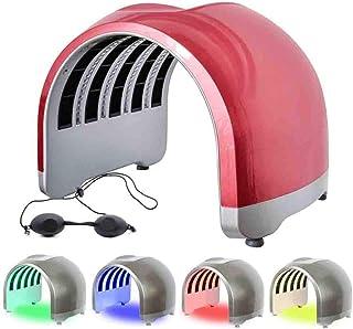 LED-lichtmasker, 4 kleuren LED-fotontherapie Huidverjongingsbehandeling, Acneverwijderingsmachine, LED-gezichtsmasker,Elek...