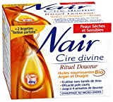 Nair - Cire Divine - Rituel Douceur - Peaux sèches & sensibles - Efficacité poils courts - 400 g