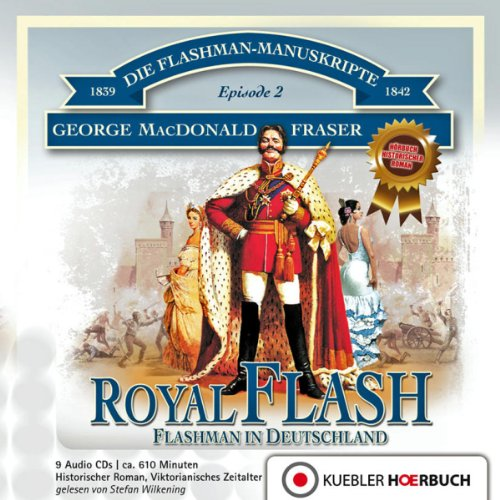Couverture de Royal Flash - Flashman in Deutschland (Flashman 2)