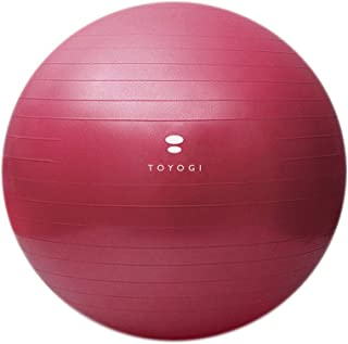 Yoga Ball Thickened Explosion-Proof Slimming Weight Loss Fitness Midwifery Balance Yoga Ball Female (Color : A, Size : 55CM)