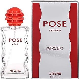 Pose by Amare - perfumes for women - Eau de Toilette, 100 ml