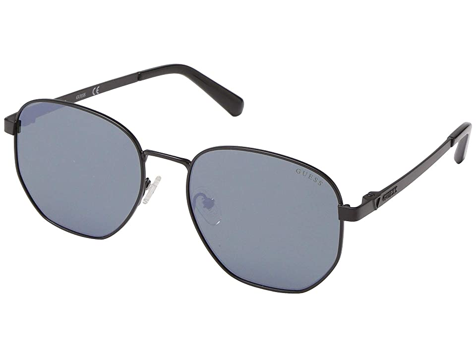 GUESS GU6938 (Matte Black/Green Mirror) Fashion Sunglasses