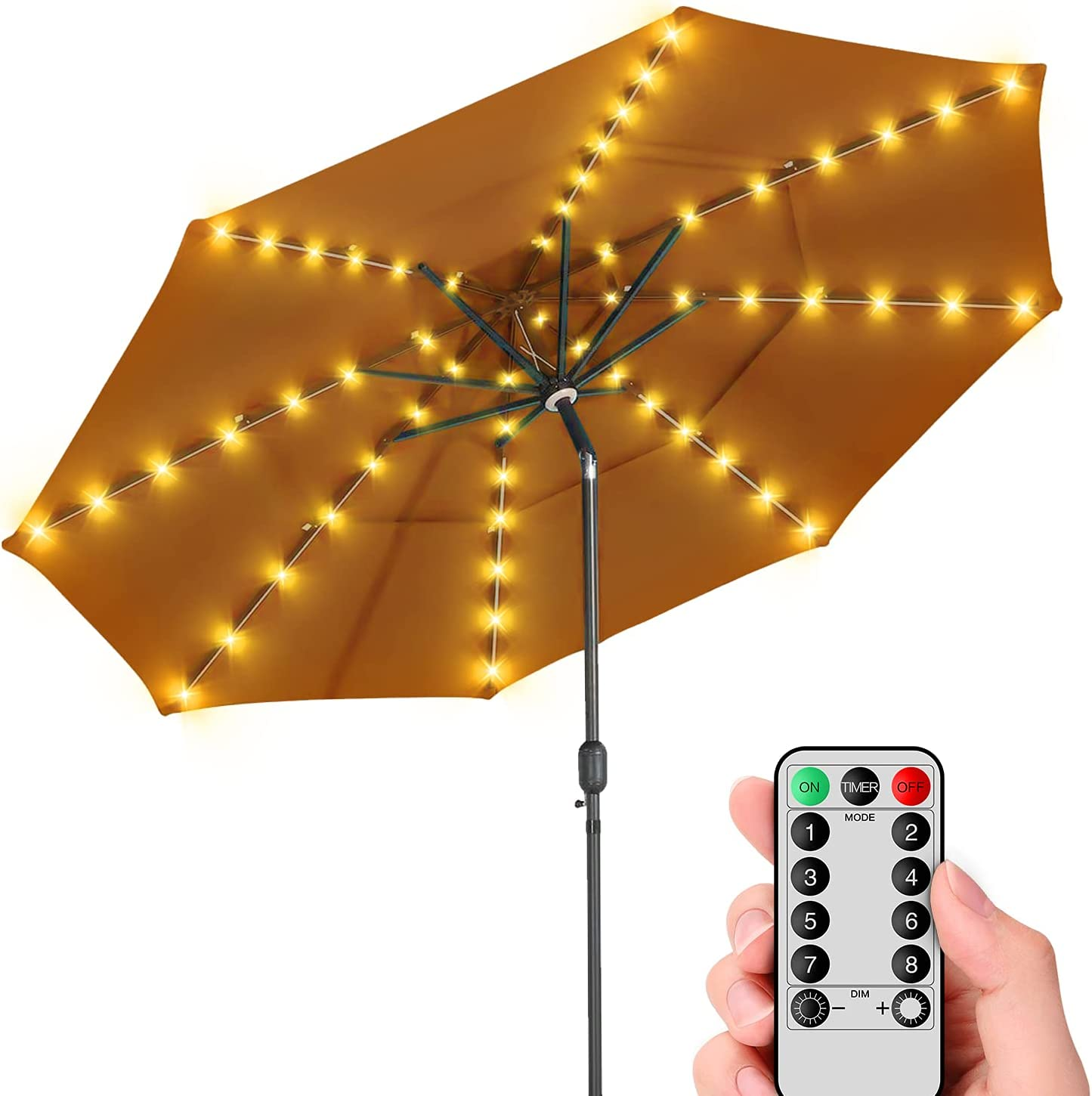 Beauty products Patio Umbrella Lights Cordless National products Parasol Remote with String