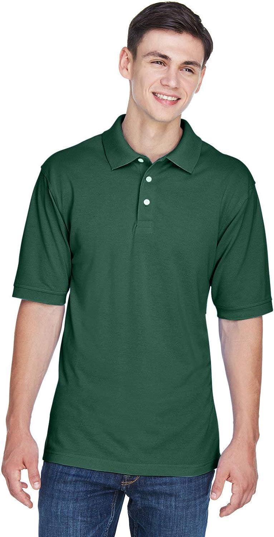 Harriton Men's Easy Ranking TOP2 Blend Polo Pique Gorgeous Shirt