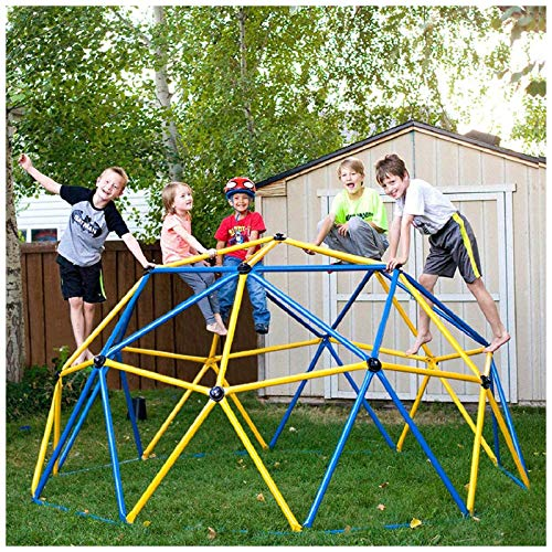 XIJING Outdoor Dome Climber Klettergerüst Kletterstangen Jungle Gym Play Center für Hinterhof Spielplatz Set