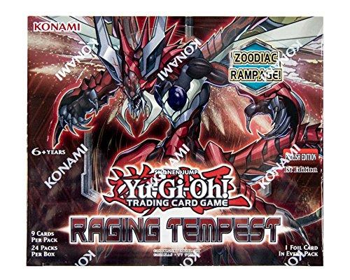 Konami Yu-Gi-Oh Raging Tempest Booster Box