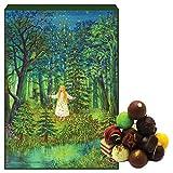 Hallingers Pralinen-Adventskalender - Sternthaler (Advents-Karton)