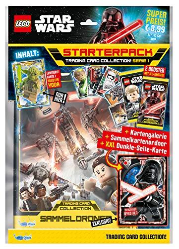 Top Media 180231 Lego Star Wars Sammelkarten, Starterpack, Mehrfarbig