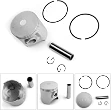 Areyourshop Piston Ring Kit for DT200R 1995-1996 STD Bore Size 66.00mm