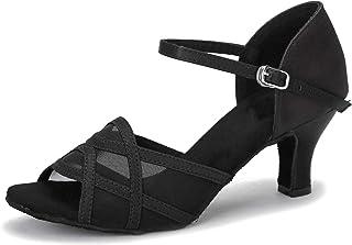 أحذية الرقص اللاتيني للسيدات من Akanu أحذية رقص السالسا في قاعات الرقص