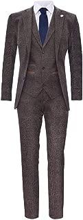 Best 3 piece herringbone suit Reviews
