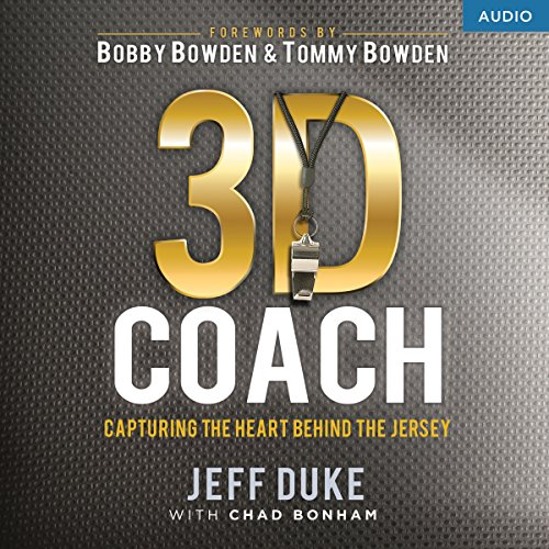 3D Coach audiobook cover art