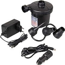 Haudang ODIAL (R) Elektrische luchtpomp, DC12V / AC230V oppompen, ontlaat, pompen, auto opblazen, elektrische pomp met 3 s...