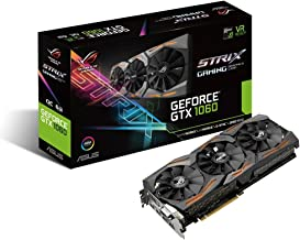 Asus STRIX-GTX1060-6G-GAMING Graphic Card GeForce GTX 1060 6GB, VR Ready, HDMI 2.0, DP 1.4