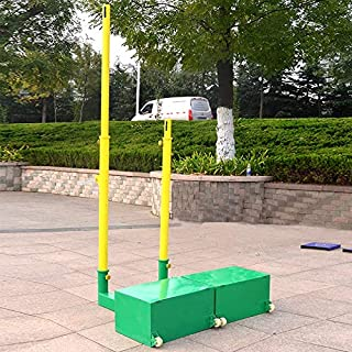 STC 3 in 1 Tennis Badminton Volleyball Movable Pole Set
