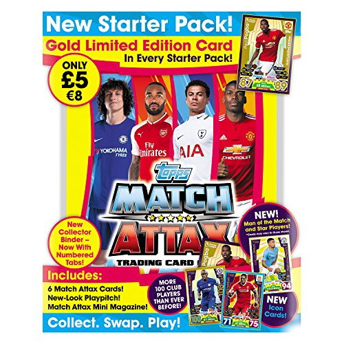 Match Attax MA1718P EPL 2017/18 Trading Card Game Adventskalender