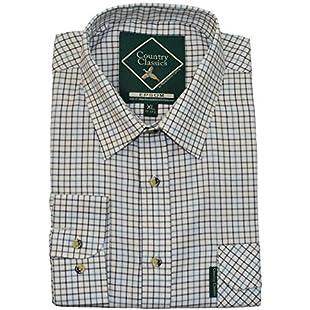 Country Classics Epsom LS Check Mens Shirt - Epsom-Blue - S:Isfreetorrent