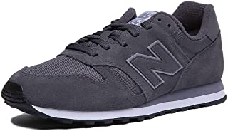 New Balance Ml373Dgr Womens Suede Leather Trainer in Darkgray