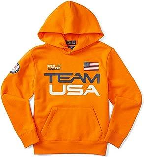 Ralph Lauren Boys' Team USA Cotton-Blend Hoodie