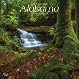 Alabama, Wild & Scenic 2019 12 x 12 Inch Monthly Square Wall Calendar, USA United States of America Southeast State Nature (Multilingual Edition)