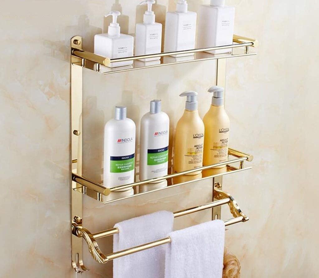 Bathroom Shelf Japan Maker New Rare Stainless Steel Double Towel Rack