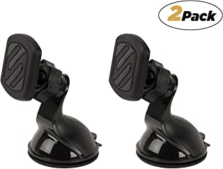 Scosche MWSM2PK-UB Magicmount Magnetic Suction Cup Mount for Mobile Devices (Pack of 2)