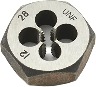 Forney 21177 Pipe Die Industrial Pro UNF Hex Re-Threading Carbon Steel, Right Hand, 12-by-28